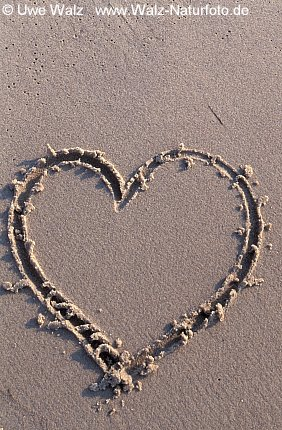 Herz im Sand / Heart in the Sand