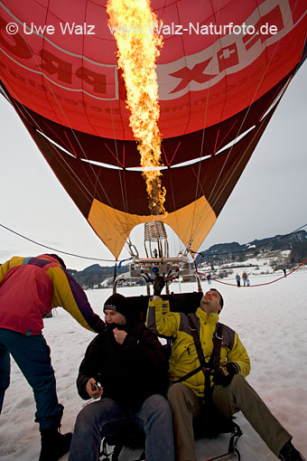 Heißluftballon / Hot-air balloon