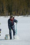 Eisangeln in Schweden / Ice fishing in Sweden