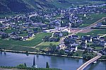 Mosel Blick auf Piesport / Mosel river, Piesport
