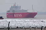 Autotransportschiff KESS EMS HIGHWAY / Car carrier KESS EMS HIGHWAY