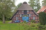 Fachwerkhaus in Fedderwardersiel / Timber-framed house in Fedderwardersiel