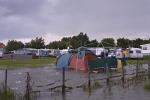 Campingplatz vom Hochwasser bedroht / Flood on Campground